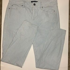 """Ann Taylor """"The Skinny Ankle"""" Modern Fit Jeans."""